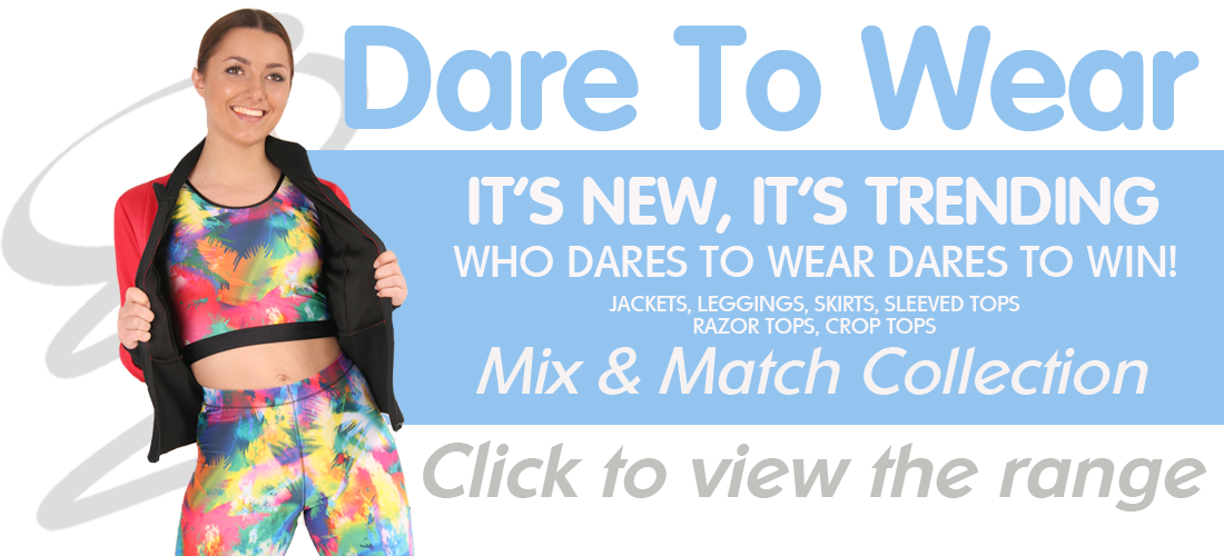 Click to view our Dare to Wear range here at Gee's Active